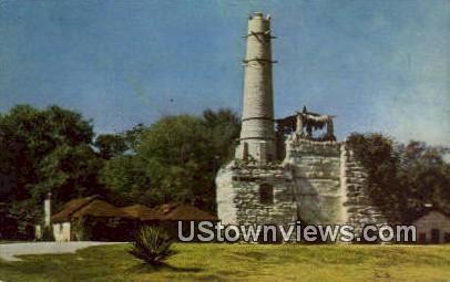 Breckenridge Park - San Antonio, Texas TX Postcard