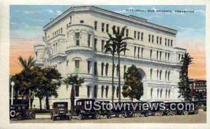 City Hall - San Antonio, Texas TX Postcard