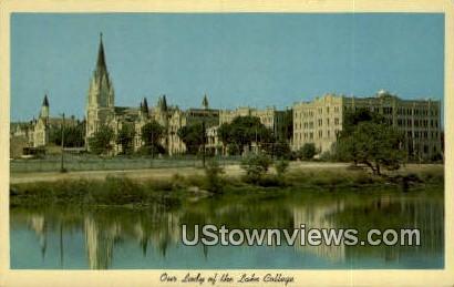 Our Lady of the Lake College - San Antonio, Texas TX Postcard