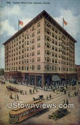 Gunter Hotel - San Antonio, Texas TX Postcard