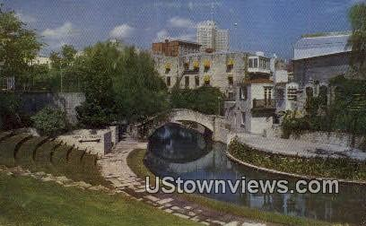 River Theater - San Antonio, Texas TX Postcard