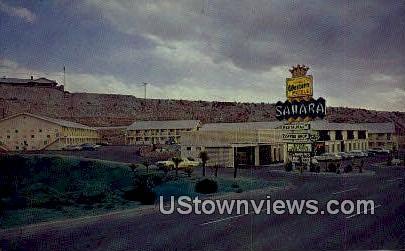 Sahara Motor Inn - El Paso, Texas TX Postcard