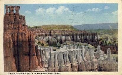 Temple of Orisis - Bryce Canyon, Utah UT Postcard