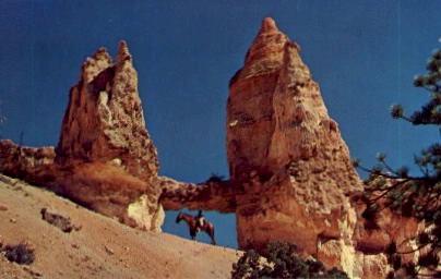 Tower Bridge - Bryce Canyon, Utah UT Postcard