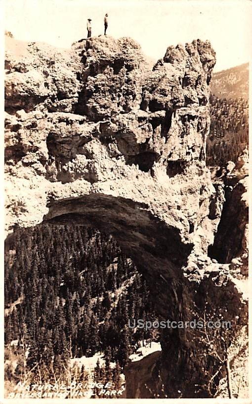 Natural Bridge - Bryce Canyon, Utah UT Postcard