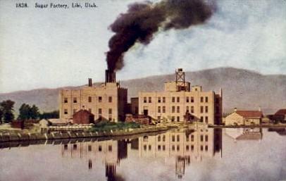 Sugar Factory - Lihi, Utah UT Postcard