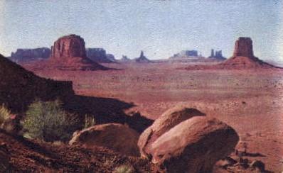 North Window Vista - Monument Valley, Utah UT Postcard