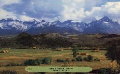 Misc - Moab, Utah UT Postcard