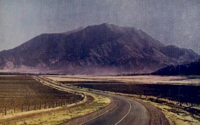 Mt. Nebo - Mt Nebo, Utah UT Postcard