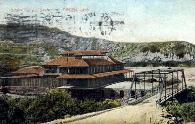 Ogden Canyon Sanitorium - Utah UT Postcard