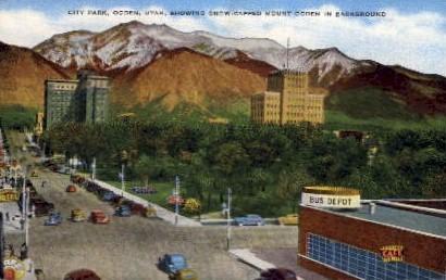 City Park - Ogden, Utah UT Postcard