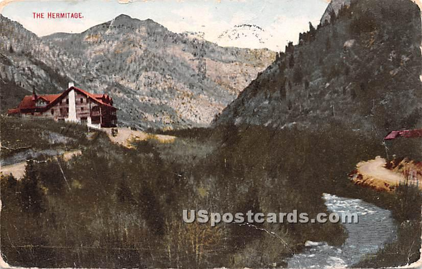 The Hermitage - Ogden, Utah UT Postcard