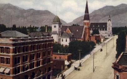 Misc - Ogden, Utah UT Postcard