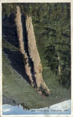 Devils Slide - Weber Canyon, Utah UT Postcard