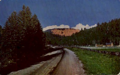 Cedar Canyon, Utah, UT Postcard