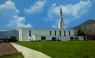 Ogden Tabernacle - Utah UT Postcard
