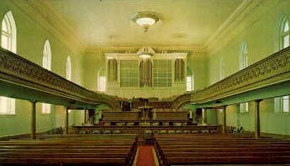 Interior L.D.S. Tabernacle - Brigham City, Utah UT Postcard