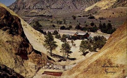 Lemonade Springs - Big Rock Candy Mountain, Utah UT Postcard