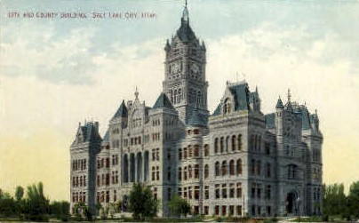 City and County Building - Salt Lake City, Utah UT Postcard
