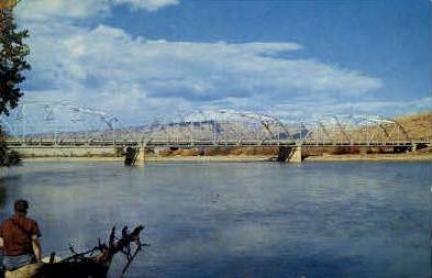 Jensen Bridge - Vernal, Utah UT Postcard