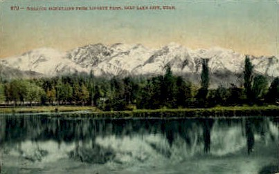 Wasatch Mountains - Salt Lake City, Utah UT Postcard