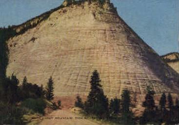 Rock Candy Mountain - Cedar City, Utah UT Postcard