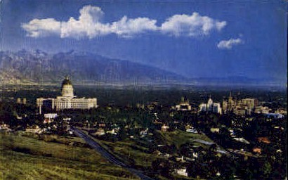 Salt Lake City, Utah, UT Postcard
