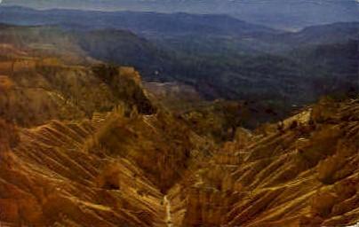 Cedar Breaks National Monument - Misc, Utah UT Postcard