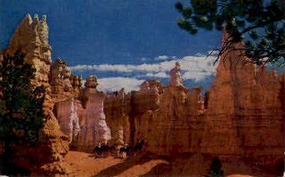 Queen Victoria - Bryce Canyon National Park, Utah UT Postcard