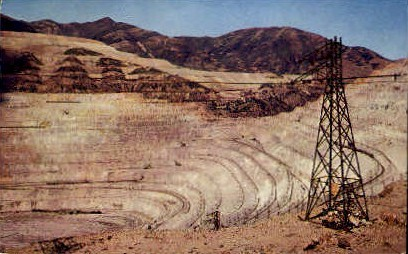 Bingham Copper Mine - Bingham Canyon, Utah UT Postcard