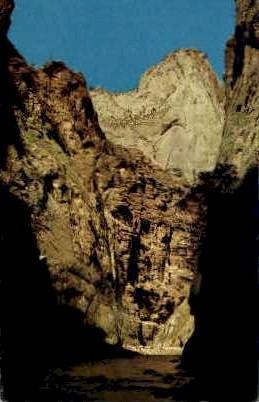 Mountain of Mystery - Zion National Park, Utah UT Postcard