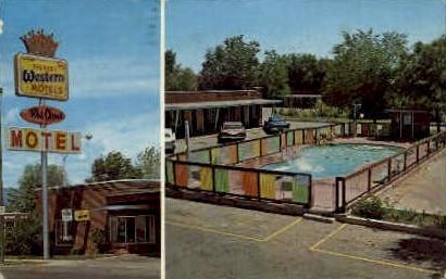 Red Cloud Motel - Vernal, Utah UT Postcard