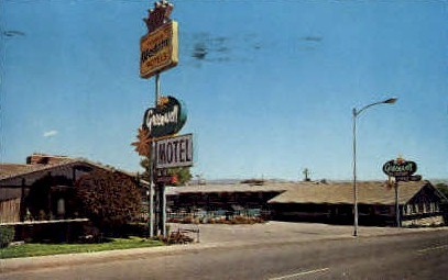 Green Well Motel - Price, Utah UT Postcard