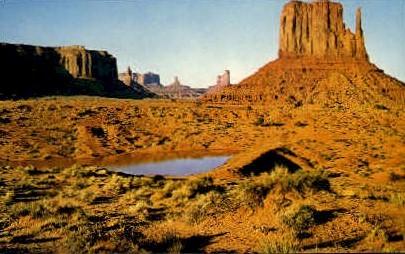 Sunset - Monument Valley, Utah UT Postcard