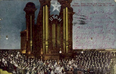 Great Organ and Famous Choir - Salt Lake City, Utah UT Postcard
