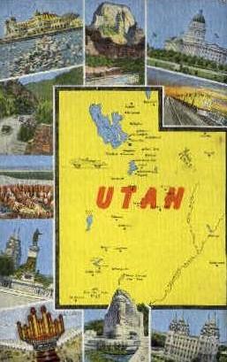 Utah   - Misc Postcard
