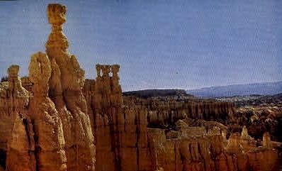 The Temple of Osiris - Bryce Canyon National Park, Utah UT Postcard