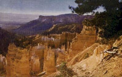 Bryce Canyon National Park, Utah, UT Postcard