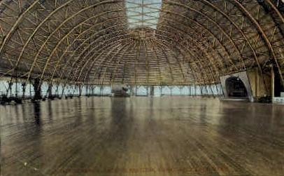 Dancing Floor, Saltair Pavilion - Great Salt Lake, Utah UT Postcard