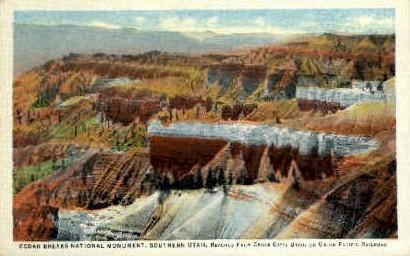 Cedar Breaks National Monument - Cedar City, Utah UT Postcard