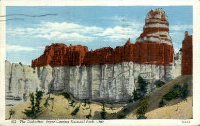 The Cathedral - Bryce Canyon National Park, Utah UT Postcard