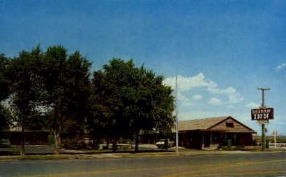 Deltan Inn - Utah UT Postcard