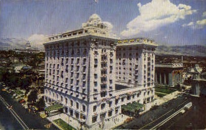 Federal Building - Salt Lake City, Utah UT Postcard
