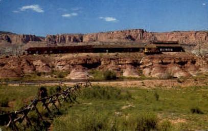rimrock Motel and Restaurant - Torrey, Utah UT Postcard