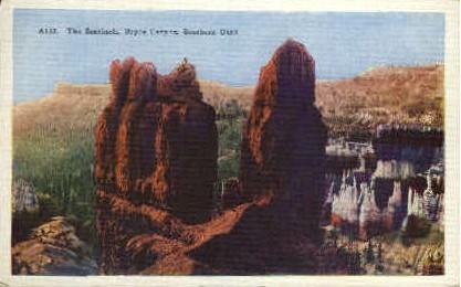The Sentinels - Bryce Canyon, Utah UT Postcard
