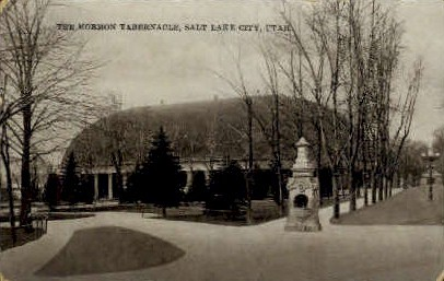 The Mormon Tabernacle - Salt Lake City, Utah UT Postcard