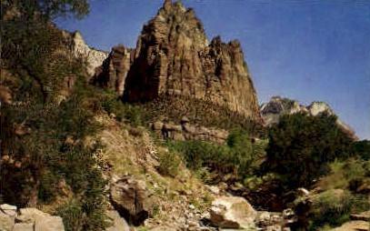 Mt. Moroni - Zion National Park, Utah UT Postcard