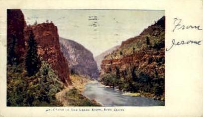 Grand River, Echo Cliffs - Misc, Utah UT Postcard