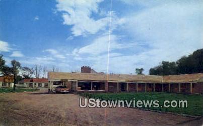 Colonial Motel - Panguitch, Utah UT Postcard