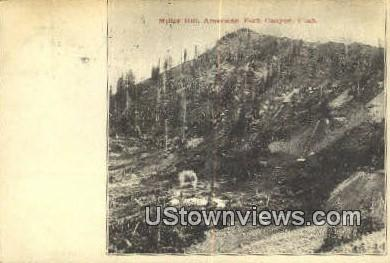 Miller Hill - American Fork Canyon, Utah UT Postcard